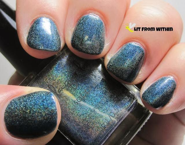 Lacquer Lust Sapphire, a gorgeous deep blue