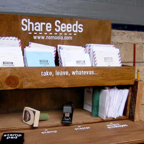 Seed Launching Pad >> Gaye Chan Launching Seed Sharing Stations