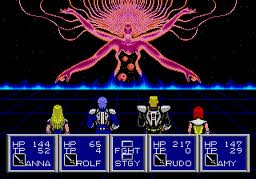 Phantasy star II last boss