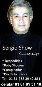 COMEDIANTE SERGIO SHOW