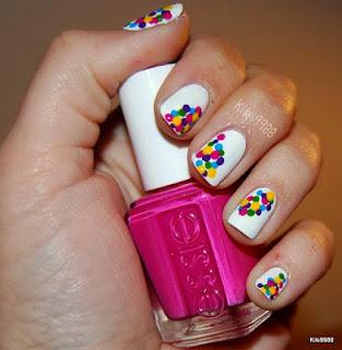 hollandabeauty essie confetti nailart