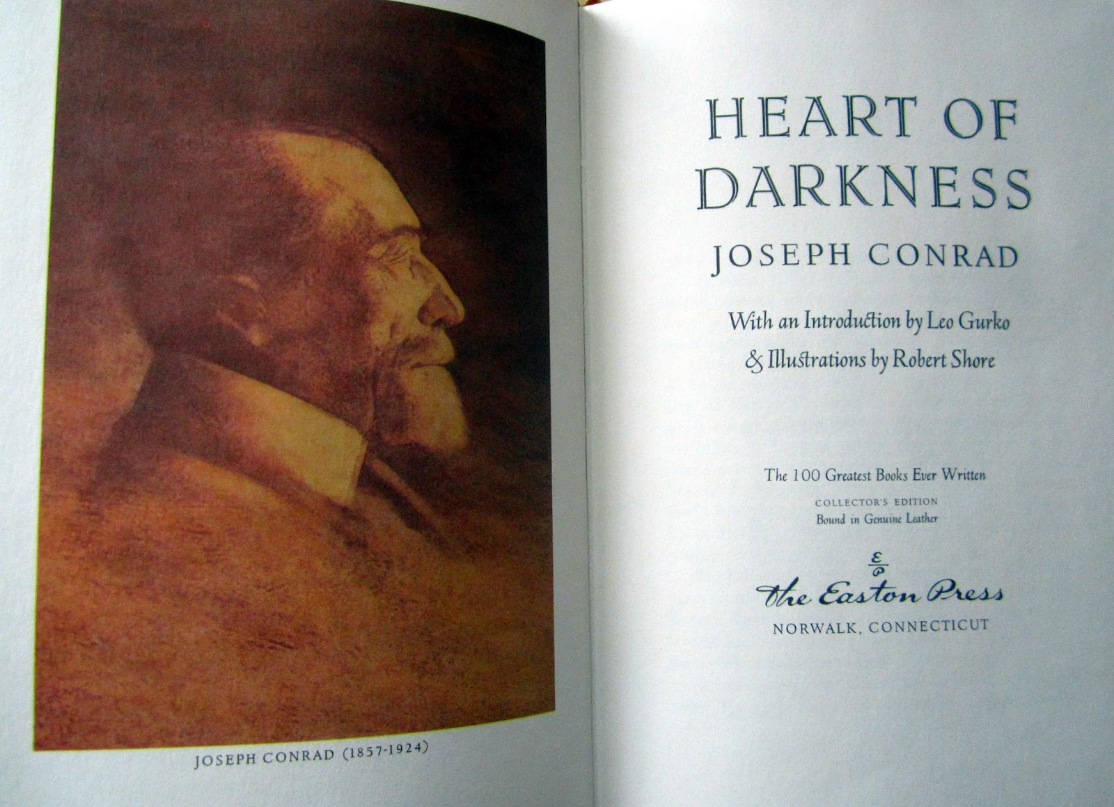 characterization used in heart of darkness by joseph conrad The paperback of the heart of darkness by joseph conrad characters and literary elements used into the heart of africa conrad&rsquos use of.