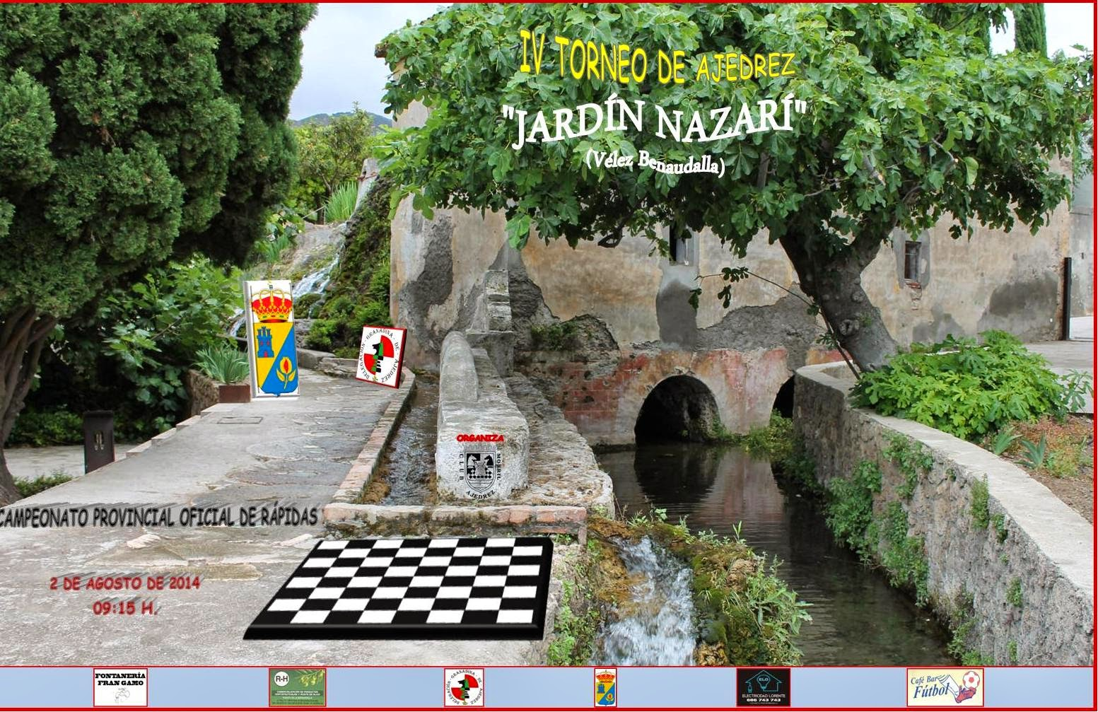 Ajedrez motril iv torneo de ajedrez jard n nazar for Ajedrea de jardin