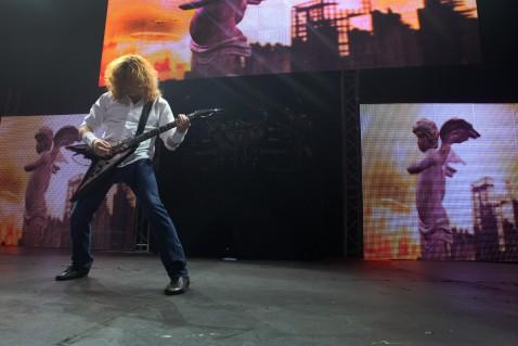 Megadeth Recital Santiago de Chile 2012
