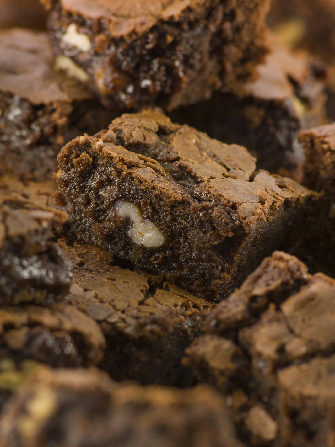 Dairgold Chocolate brownies food photography with McCann erickson