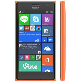 Harga Microsoft Lumia 735 Terbaru