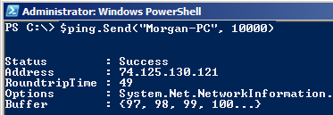 How to Ping a Computer with PowerShell