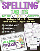 spelling activities for any words
