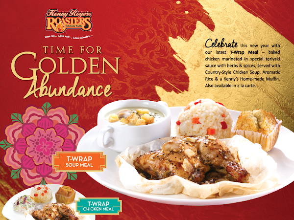 Raikan Tahun Baru Cina dengan Kenny Rogers Roaster Golden Abundance