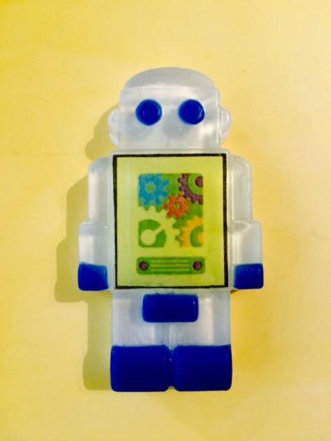 Make this Robot Soap