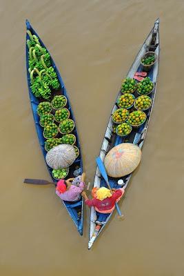 Formación en V de vendedoras en Banjarmasin Indonesia
