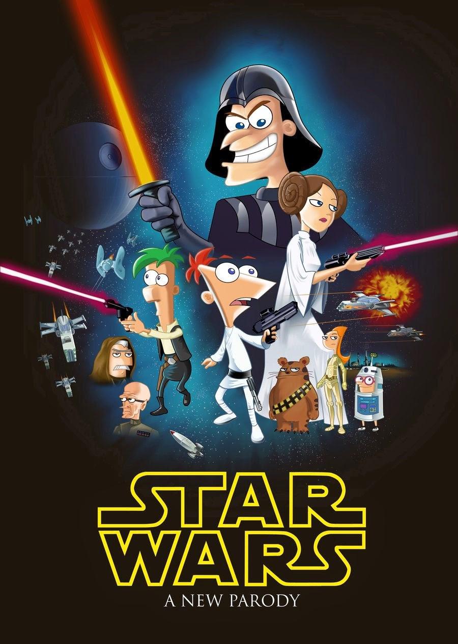 Capa Baixar Filme Phineas and Ferb   Star Wars Torrent Dublado (2014) Baixaki Download