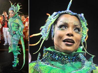 Fotos musas do Carnaval 2011 - São Paulo - 1° noite - Adriana Bombom