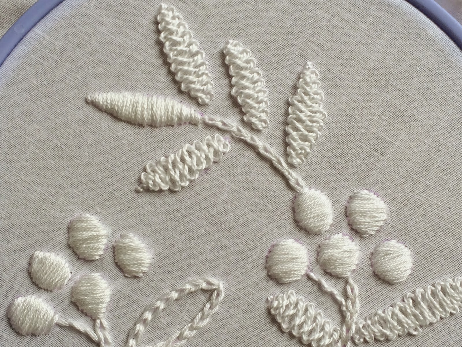 Cable Plait stitch, a tutorial by Michelle for Mooshiestitch Monday on Feeling Stitchy