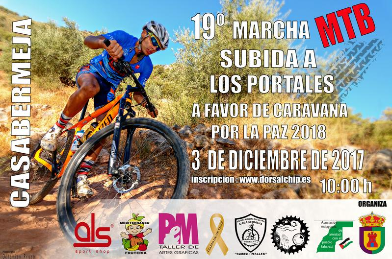 SUBIDA A LOS PORTALES (Bicicleta de montaña) (Casabermeja)