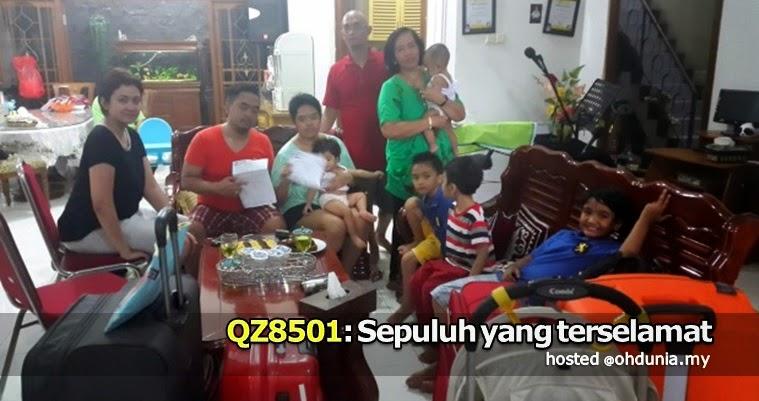 Sepuluh yang terselamat dari tragedi pesawat AirAsia QZ8501 !..