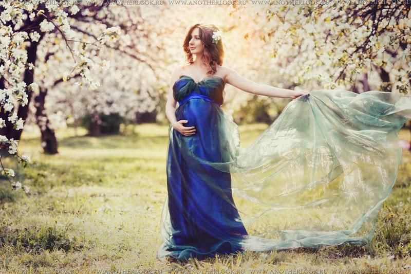 Беременность в саду