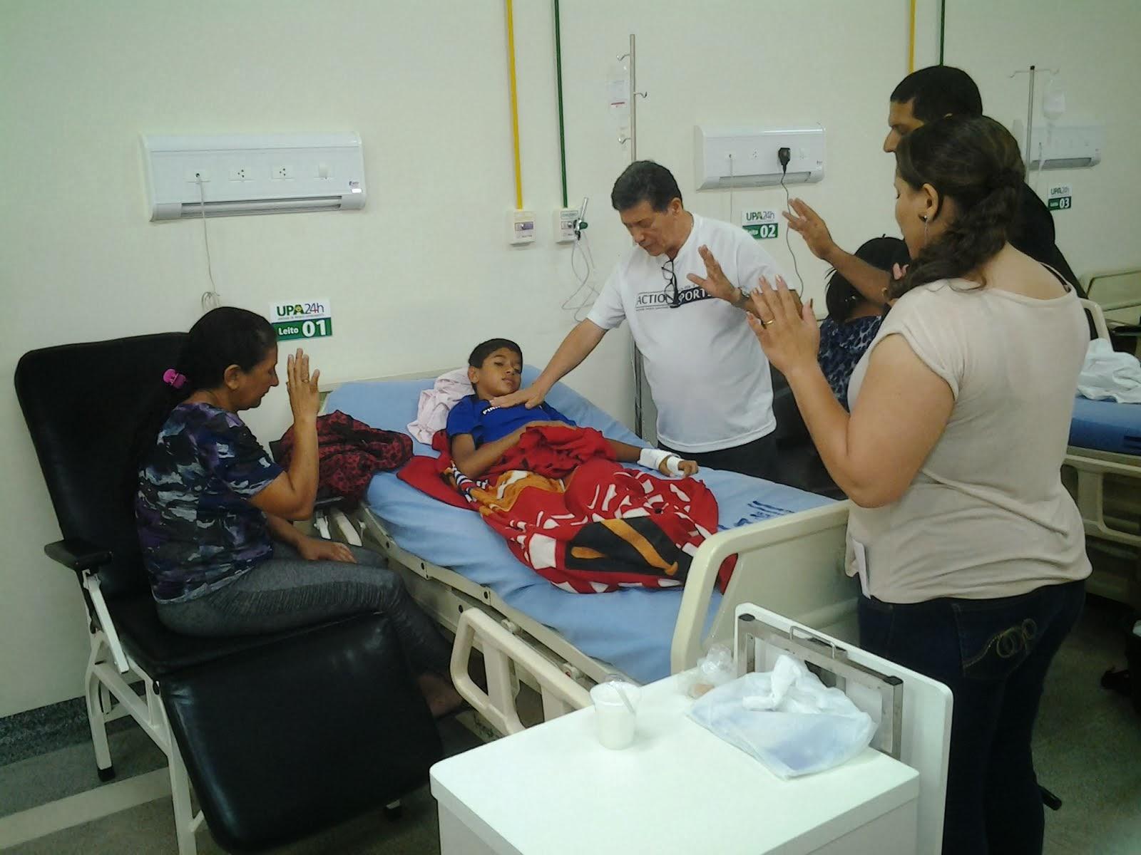 Evangelização na UPA Rio Branco - AC