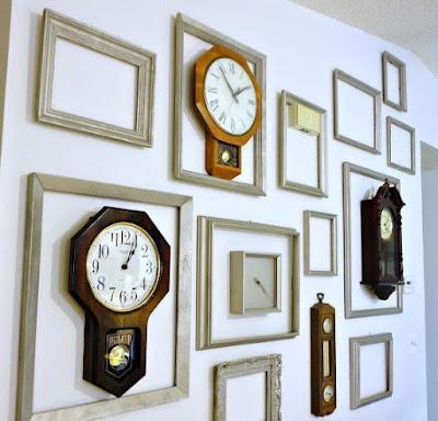 Dekorasi Rumah Minimalis Menggunakan Jam Dinding