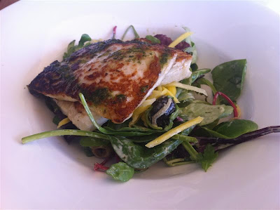 Stitch and Bear - Grilled halloumi salad at Electric, Cork