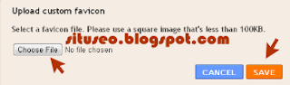 cara membuat favicon custom blogger