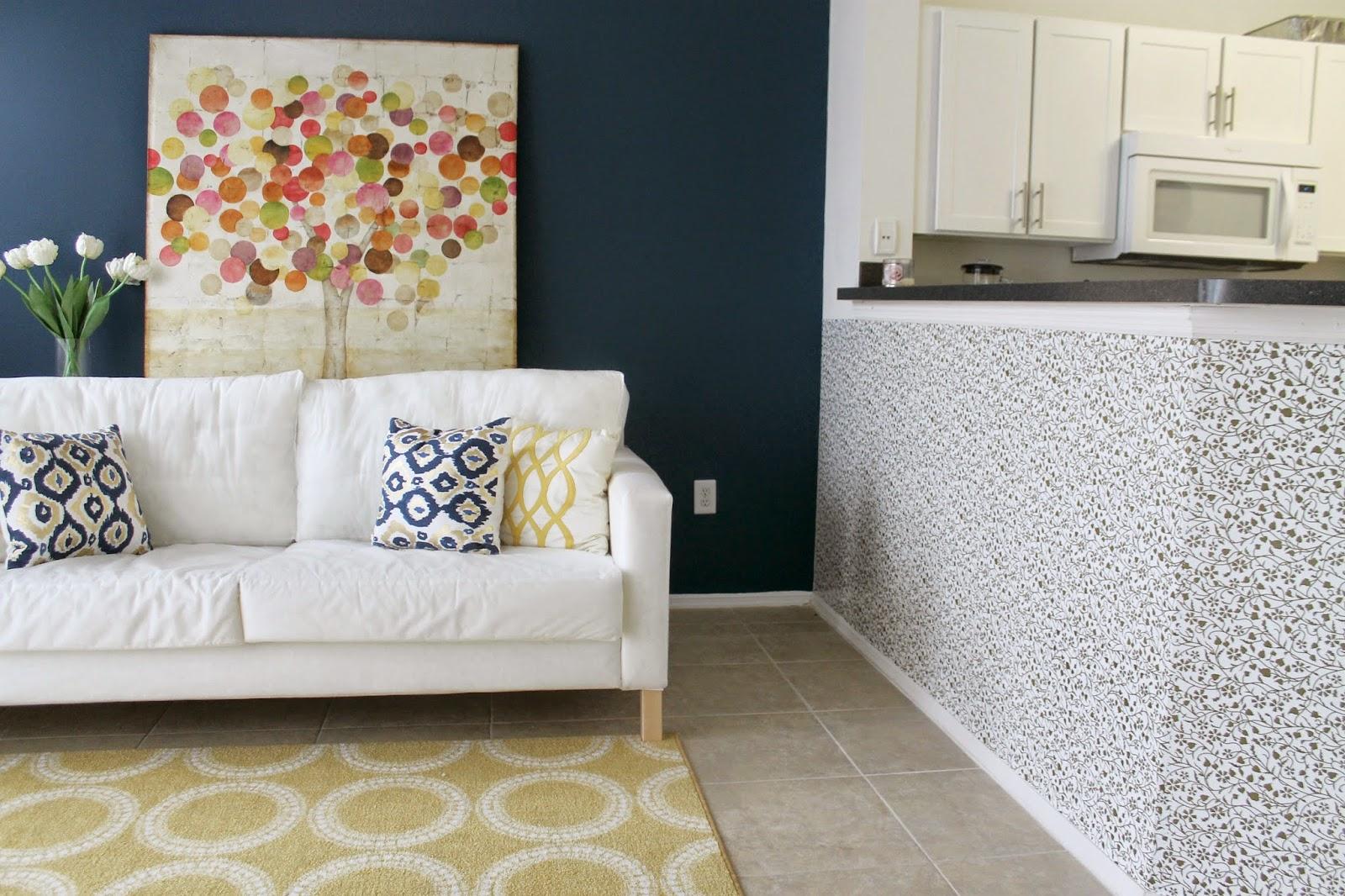 Casa Montada Papel Contact decora (e protege) a bancada da cozinha integrada # Bancada Para Cozinha Onde Comprar