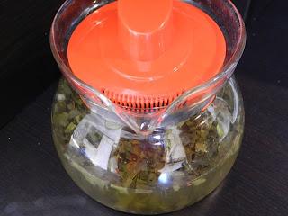 bevanda rinfrescante di tè verde zenzero e limone