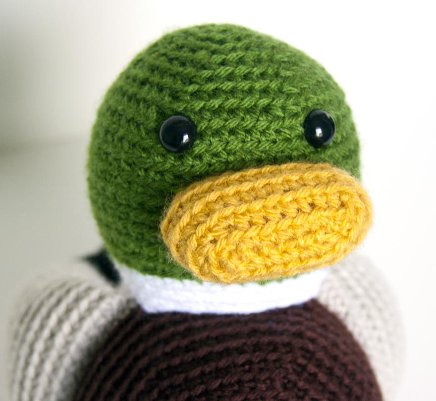 Amigurumi Bird Feet : Show and Tell Meg: Crochet Update: Meet Maynard the Mallard!