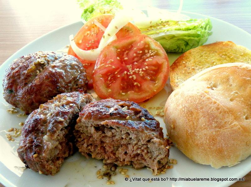 Vitat que est bo hamburguesas gourmet - Plancha para hamburguesas ...