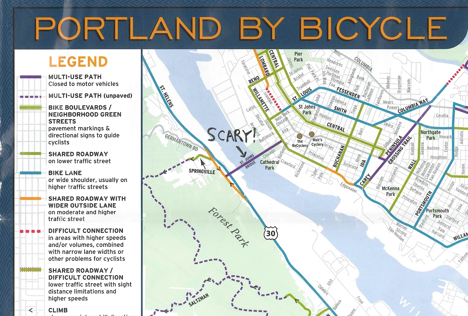 Madison Bike Life St Johns Bridge  Portland How About