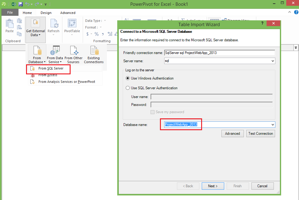 How to configure and build PowerView report in Project Server 2013 ...