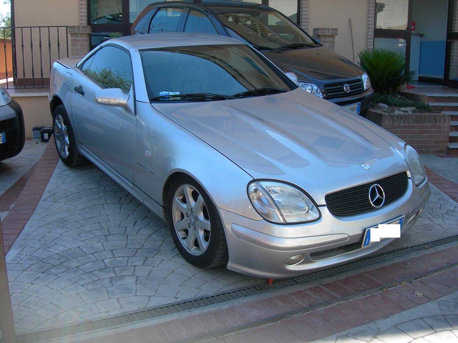 Mercedes SLK Cabrio full optional Occasione !! cont.x prezzo