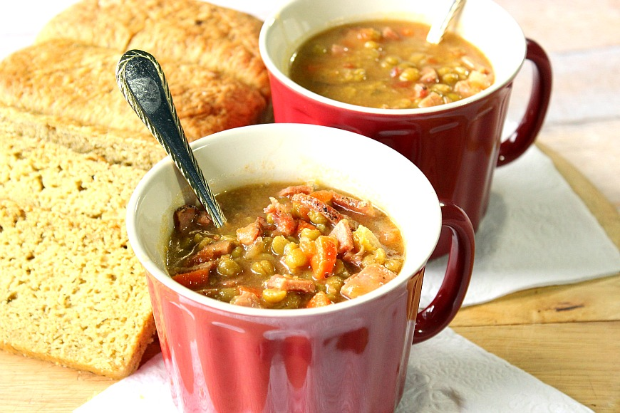 Split Pea Soup with Ham will convert even a pea hater, into a pea ...