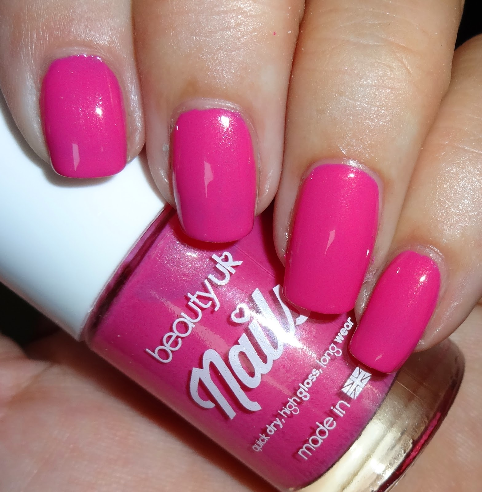 Wendy\'s Delights: Beauty UK Nail Polish - Pink Lemonade & Pink Pop