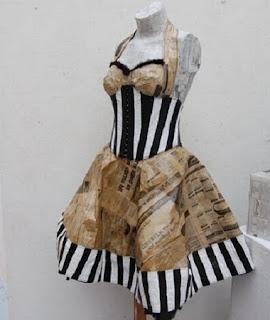 Vestidos con Material Reciclado, Moda y Diseño Ecoresponsable, III Parte
