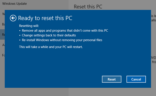 Hard reset windows 8 1 планшет