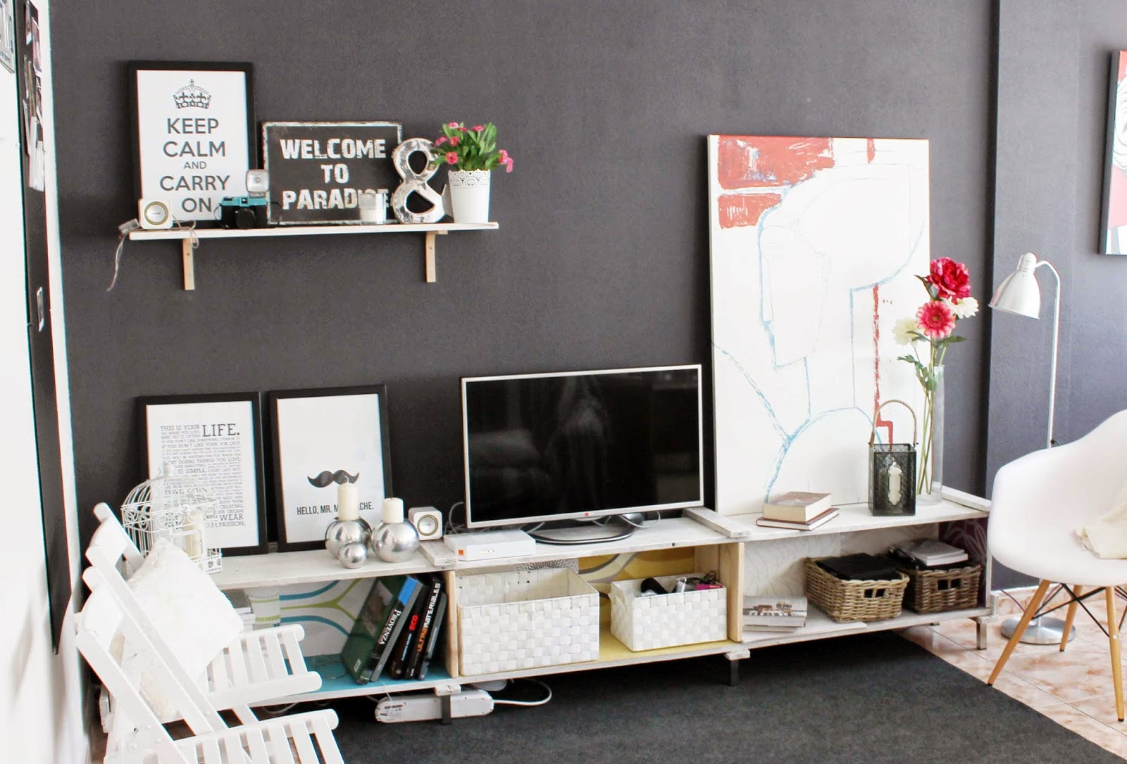 Conceptode ideas diy como hacer tu propio mueble de la tv - Muebles tu mueble ...