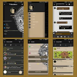 BBM Mod Aksara Theme Batik v2.10.0.35 Pilihan Bahasa (Indonesia+English+Sunda+Jawa)