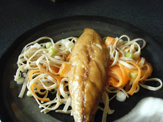 Smoked Mackerel Nodles