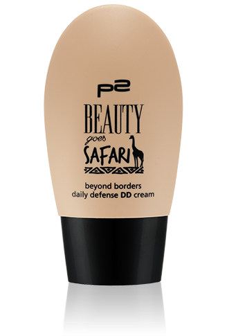 Preview: p2 Limited Edition: Beauty goes Safari - beyond borders daily defense DD cream - www.annitschkasblog.de