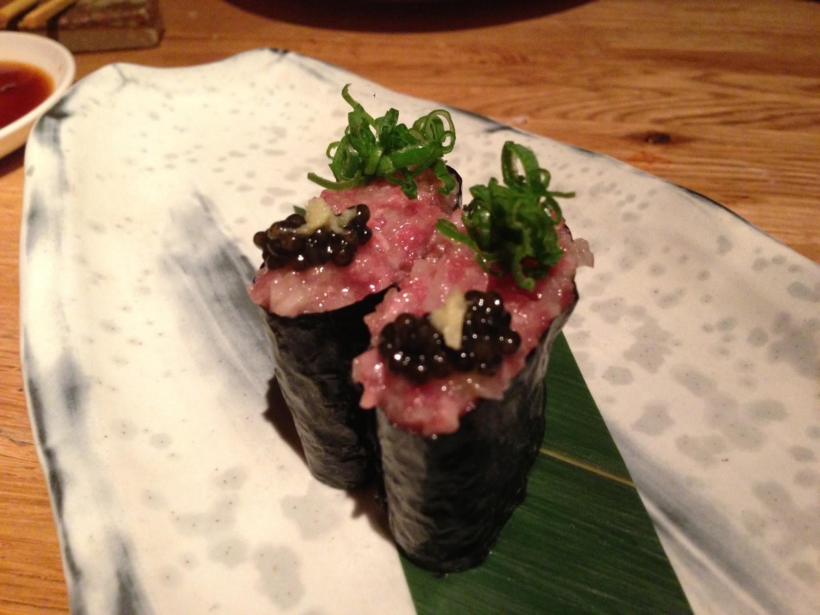 gunkan sushi this wagyu gunkan is an at sushisamba jpg gunkan sushi ...