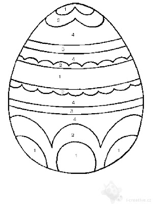 Easter  Coloring Pages on Easter Eggs Coloring Pages 2011