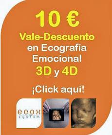 CONSIGUE UN DESCUENTO DE 10 EUROS EN TU ECOGRAFIA 3D Y 4D. SÓLO EN ECOX4D MURCIA
