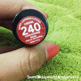Revlon Super Lustrous Lipstick Sandalwood Beige 240 Review