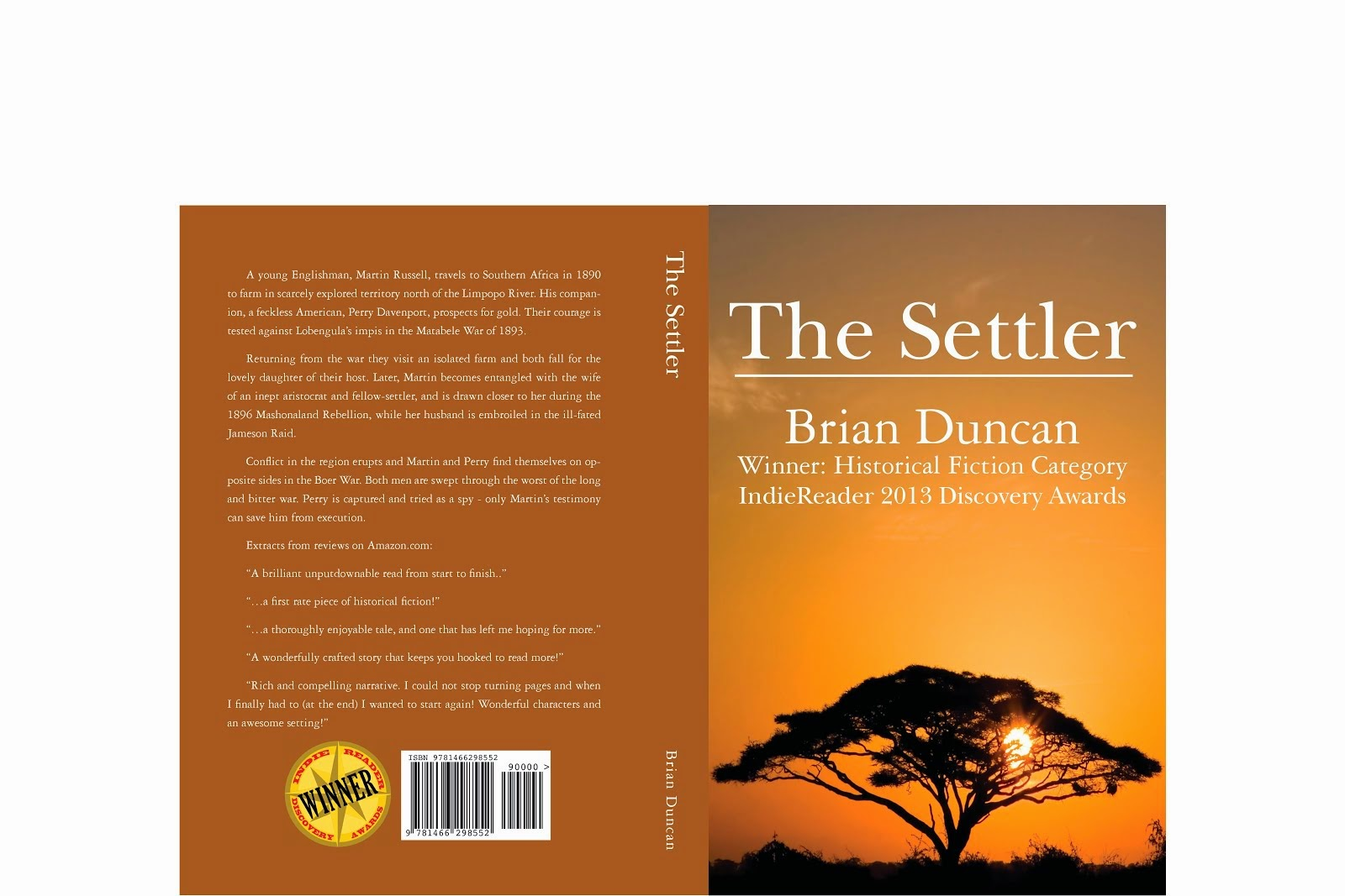 The Lion and Leopard Trilogy of historical novels