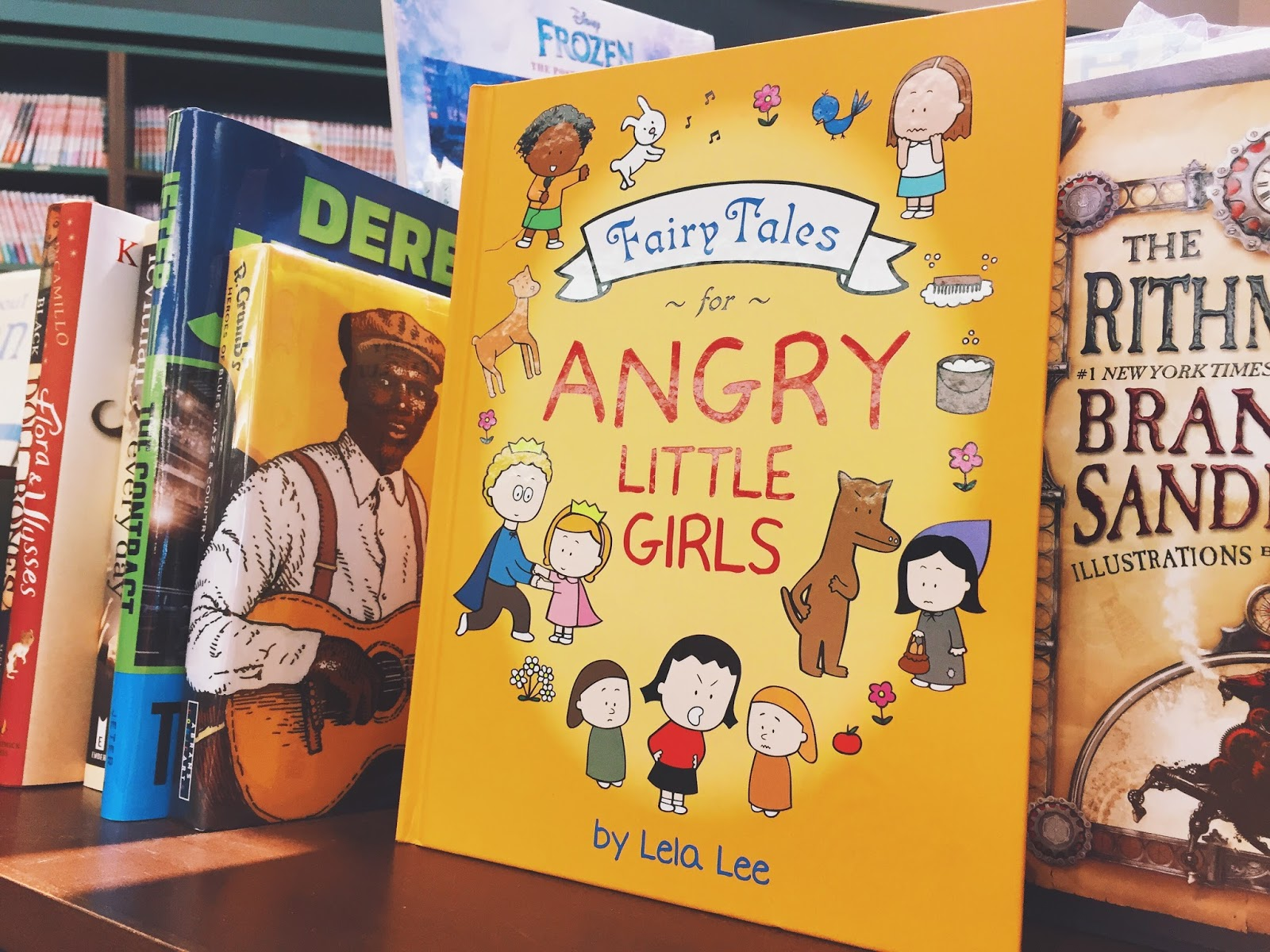 Fairy Tales For Angry Little Girls By Lela Lee BRILLIANT