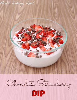 Chocolate Strawberry Dip