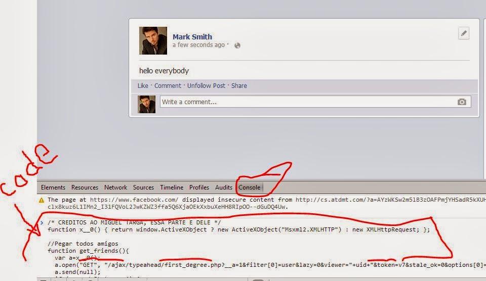 كيفية عمل تاج منشن اشارة  لكل الاصدقاء في منشور على الفيس بوك بضغطة زر واحدة  tag your friends by just 1 click
