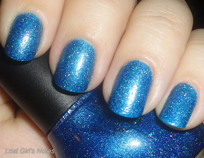 Nicole by OPI Me+Blue nail polish swatches