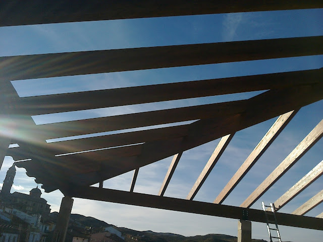 Estructura de madera CUTECMA
